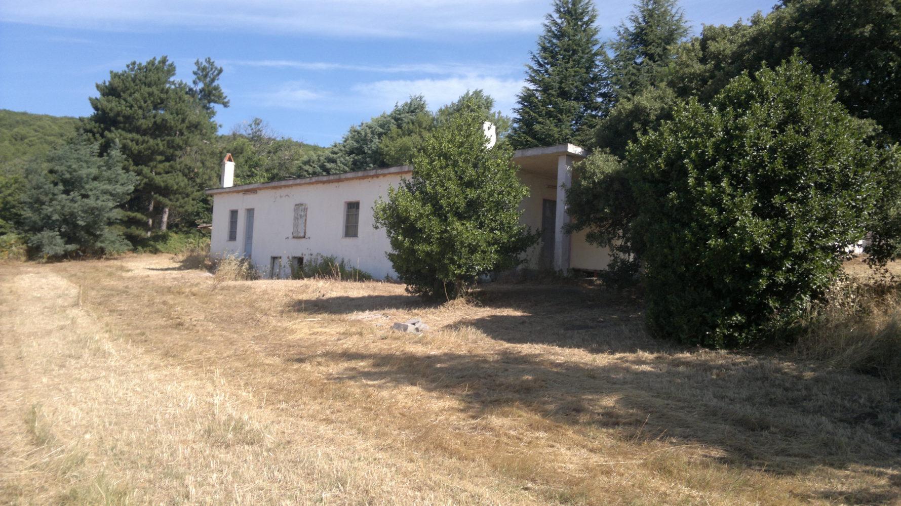 S.Lussurgiu ampia abitazione, terreno agricolo bosco